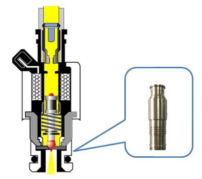 图1电控喷油器